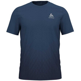 Odlo BL Millennium Element Maglietta da corsa Uomo blu